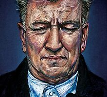 Change Begins Within - David Lynch Portrait by teabot