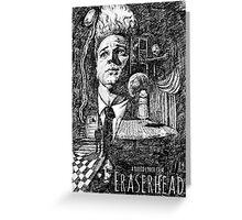 Eraserhead Movie Poster Greeting Card