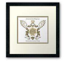 East Coast Brony MLP Crest Framed Print