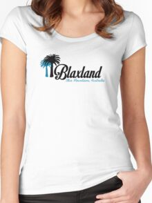 Blaxland - A great place to live Women's Fitted Scoop T-Shirt