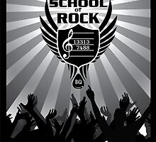 Bill Quirk School of Rock by mschandl