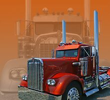 Old Classic Kenworth by rharrisphotos