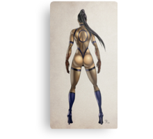 ninja woman Metal Print