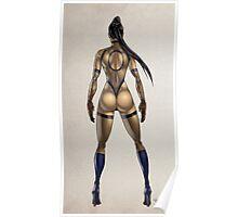 ninja woman Poster