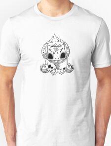 Bulbasaur de los Muertos | Pokemon & Day of The Dead Mashup T-Shirt