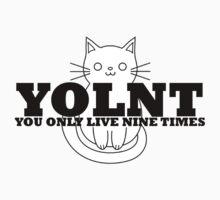 YOLNT (You Only Live Nine Times) Kids Tee