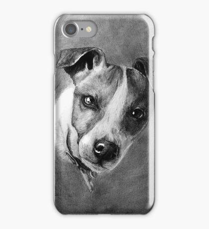 Dog Portrait Commission 1 iPhone Case/Skin