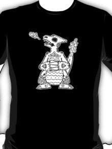 Charmeleon de los Muertos   Pokemon & Day of The Dead Mashup T-Shirt