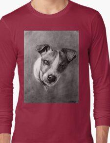 Dog Portrait Commission 1 Long Sleeve T-Shirt