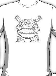 Blastoise de los Muertos   Pokemon & Day of The Dead Mashup T-Shirt