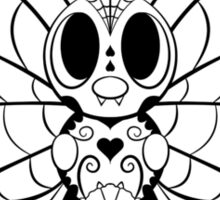 Butterfree de los Muertos | Pokemon & Day of The Dead Mashup Sticker