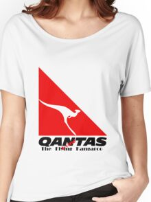 Qantas The Dying Kangaroo Women's Relaxed Fit T-Shirt