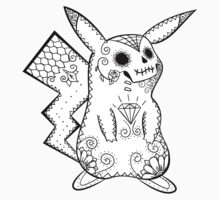 Pikachu de los Muertos | Pokemon & Day of The Dead Mashup by abowersock