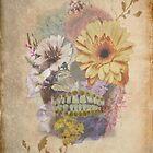 Flower Skull V3 by BluAlien
