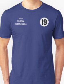 Racers Jersey - White/ White Unisex T-Shirt