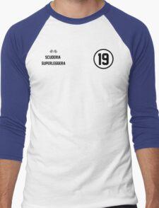 Racers Jersey - Black Men's Baseball ¾ T-Shirt