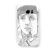 Genius in a Deer Stalker Samsung Galaxy Case/Skin