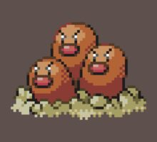 51 - Dugtrio by ColonelNicky