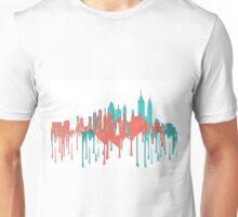 New York City, New York skyline PR-PB Unisex T-Shirt