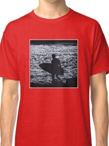 Blue Surfer Classic T-Shirt