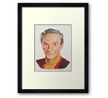 Never fear Smith is here.. Framed Print