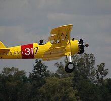 Boeing Stearman @ Temora Airshow 2011 by muz2142