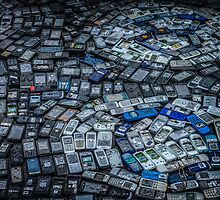 Mobile Phones by Russell Charters