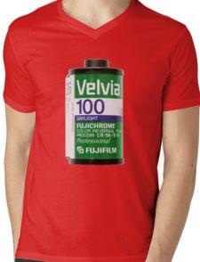 Fuji Film Canister Mens V-Neck T-Shirt