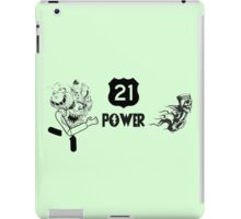 21 POWER iPad Case/Skin