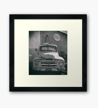 International Tow Truck Framed Print