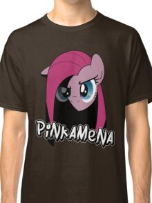Pinkamena: The Darker Half (With Text) Classic T-Shirt