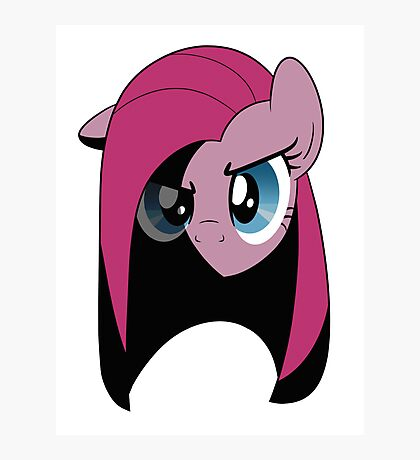 Pinkamena: The Darker Half (Without Text) Photographic Print