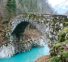Napoleon Bridge in Slovenia by jojobob