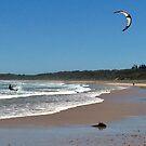 KiteSurfing by Liz Worth