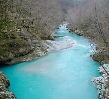 Nadiza River Near Napoleon Bridge by jojobob