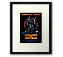 Holmes and Watson Poster Framed Print