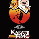 Karate Time Poster by Olipop
