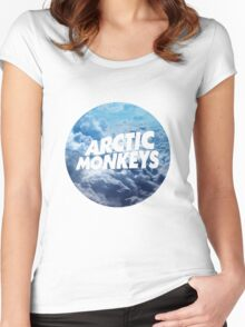 Arctic Monkeys - Clouds Women's Fitted Scoop T-Shirt
