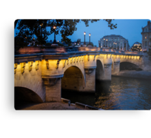 Pont Neuf Bridge - Paris, France Metal Print