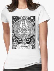 Bodhisattva Womens Fitted T-Shirt