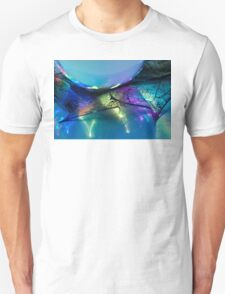 old colourful holly-leaf T-Shirt