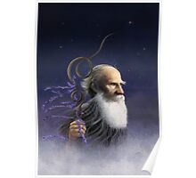 Tolstoy Sleepwalking in the Clouds Poster