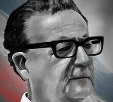 Salvador Allende by SanFernandez