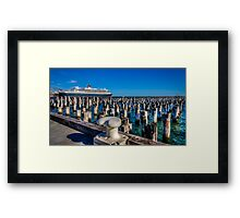 Queen Mary 2  Framed Print