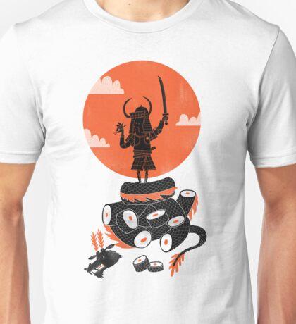 Samurai Sushi Unisex T-Shirt