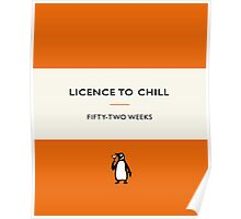 Licence to Chill Poster
