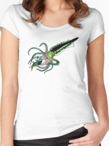 Belemnite Women's Fitted Scoop T-Shirt