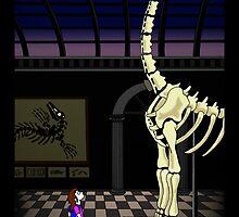 Dinosaur timespace by ErikKohlstrom