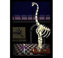 Dinosaur timespace Photographic Print