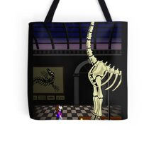Dinosaur timespace Tote Bag